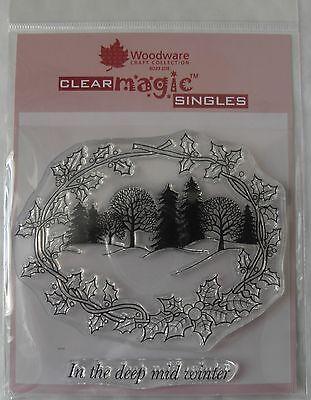 Woodware Clear Magic Stamp - Winter Wonderland - JGS180