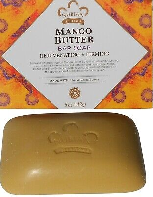 "Nubian Heritage ""MANGO BUTTER BAR SOAP"" with Shea & Cocoa -"