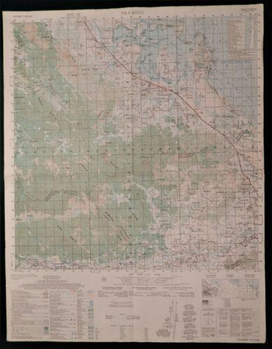 MAP - VIETNAM - CHU LAI AIRFIELD, KY HA, LZ HURRICANE, LZ BAYONET, HILL 43, +