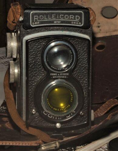 RolleicordCamera Triotar 7.5cm F3.5 Carl Zeiss Lens