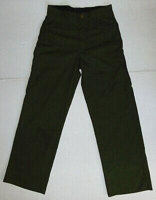Fss Aramid Wildland Firefighter Pants Green Made In Usa Size 30x30 Mens Euc