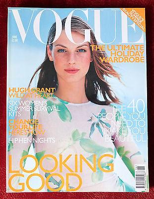 Vogue British ~ June 1999 ~ Angela Lindvall, Adriana Lima
