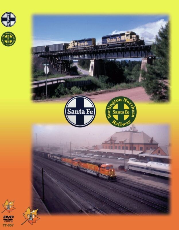 ATSF, BNSF, COLORADO TELL TALE PRODUCTIONS NEW DVD VIDEO