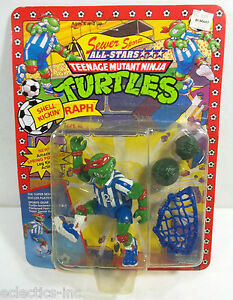 TEENAGE-MUTANT-NINJA-TURTLES-TMNT-SEWER-SPORTS-SHELL-KICKIN-RAPH-PLAYMATES-MOC