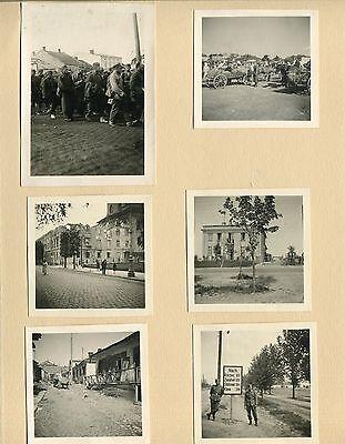 Fotoalbum , Inf. Rgt. 25 , Polen und Frankreich
