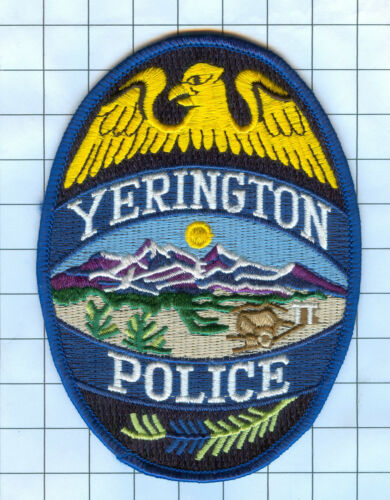 Police Patch - Nevada - Yerrington