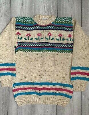 Vintage Knitted jumper cardigan