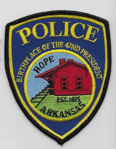 Hope Police State Arkansas AR Birthplace of 42nd president
