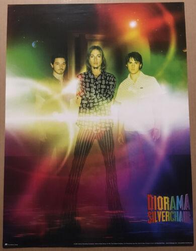SILVERCHAIR Rare 2002 PROMO POSTER for Diorama CD USA 18x24 USA NEVER DISPLAYED