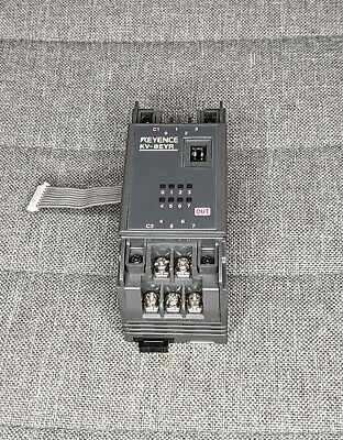 Keyence Kv-8eyr Plc 8-io Relay Expansion Module Card - Tested Working