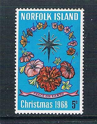 Norfolk Is 1968 Christmas SG 98 MNH