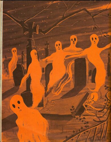 Vintage Halloween Posters Reprint