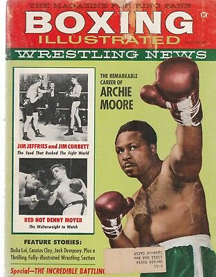 Boxing Illustrated Wrestling News Dec 1960 Cassius Clay Possible Future Champion