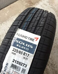 KUMHO 225/65R17 All Season Tires Brand New
