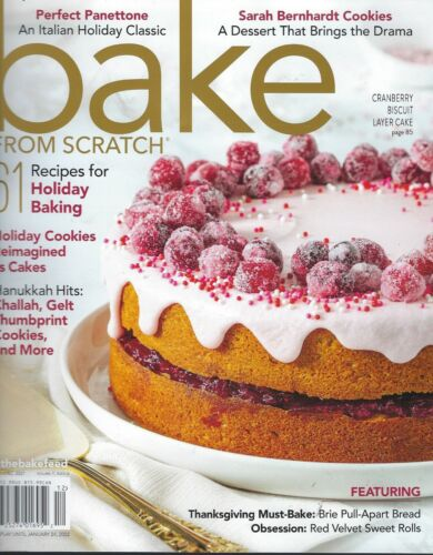 Bake From Scratch           61 recipes for Holiday Baking    2021