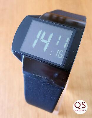 Junghans Mega Futura radio controlled digital watch - box + papers
