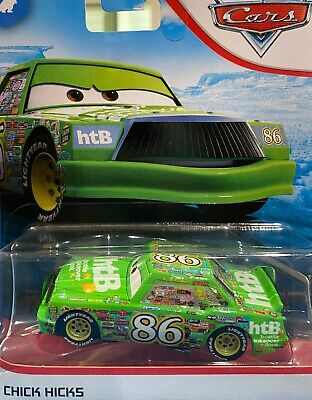"DISNEY PIXAR CARS  ""CHICK HICKS"" NEW IN PACKAGE, SHIP WORLDWIDE"