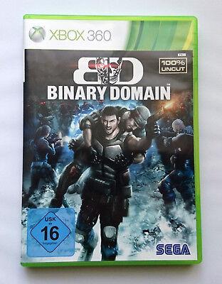 / Binary Domain / Xbox 360 / Actionspiel / Top-Zustand / (Spiel, Xbox 360-action)