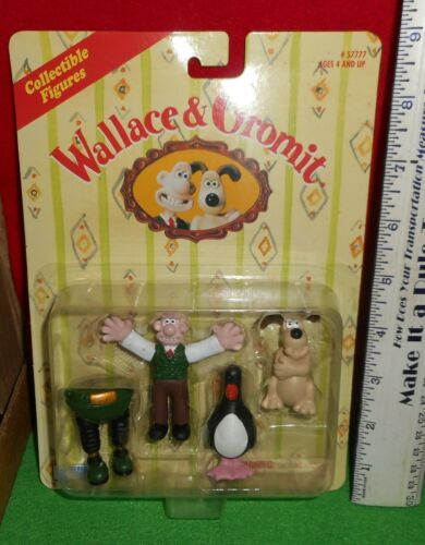 LQQK   1989  ANIMATION  [   WALLACE & GROMIT  ]   COLLECTIBLE   FIGURES   NEW