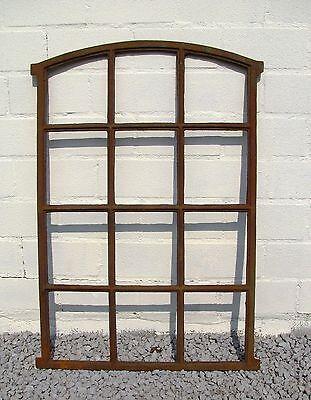Angebot!! Großes Gussfenster, Stallfenster, Fenster, Bogen, 12 Felder 95 x 62cm