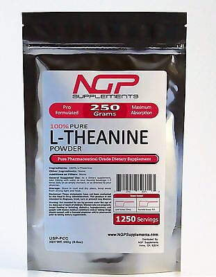 L Theanine Powder  All Variations  Energy   Stress Anxiety  Mood