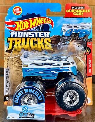 Hot Wheels VW Volkswagen Drag Bus Monster Truck ~ .95¢ Combined Shipping!