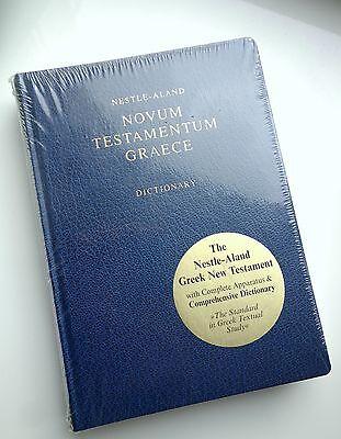 GREEK New Testament Nestl....<br>