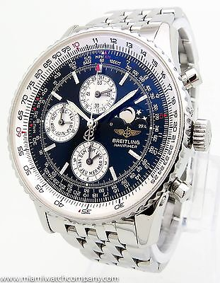 "Men's Breitling ""Navitimer Montbrillant Olympus Moonphase (A19340)"" Watch"