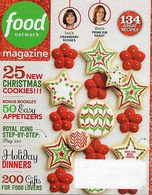 Food Network Magazine   2014   Dec   Holiday Dinners  Cookies    134 Recipes