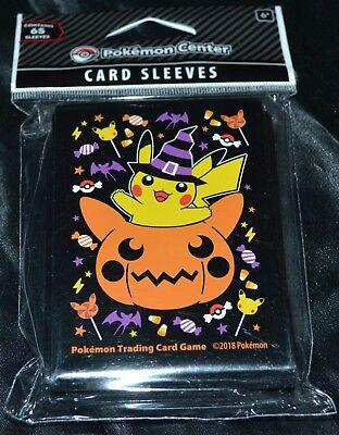 Halloween Kürbisse Spiel (65 Kürbis Pikachu Halloween Hüllen Pokemon Sammelkarten Spiel Protectors Hüllen)