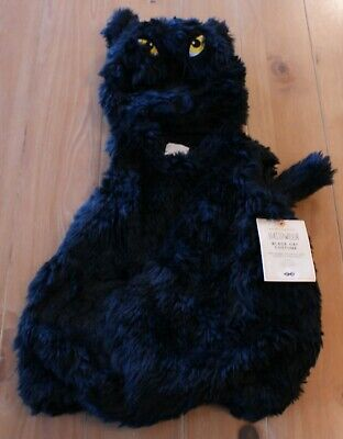 NWT Pottery Barn Kids BLACK CAT Halloween Costume Toddler 12-24 Months