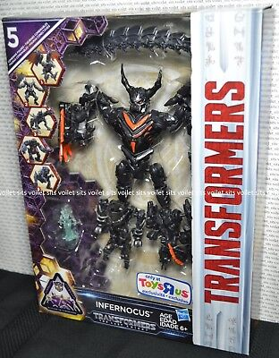 Hasbro Transformers The Last Knight Mission To Cybertron Figure Infernocus