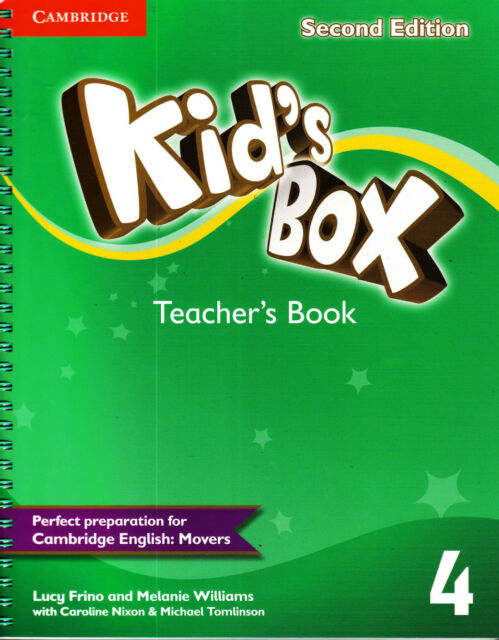 Cambridge KID'S BOX 4 Teacher's Book SECOND EDITION (2015) for MOVERS @NEW@