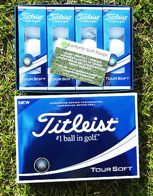 TITLEIST TOUR SOFT GOLF BALLS 1X DOZEN BRAND NEW IN BOXES