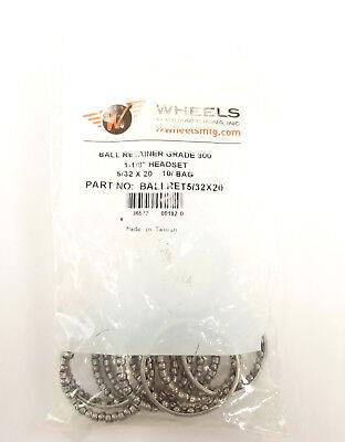 "Wheels Manufacturing 5/32""x20 Headset Bearing Retainer, Bag of 10"