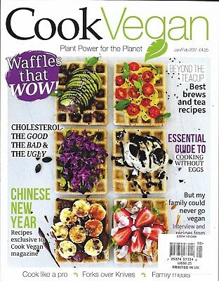 Cook Vegan Magazine Waffles Chinese New Year Recipes Best Tea Recipes Meals (Best Vegan Meal Recipes)