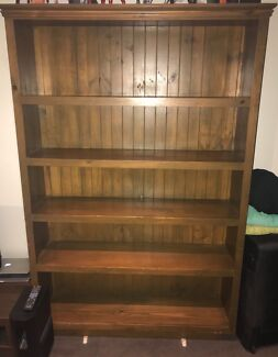 Hand made wood bookcase