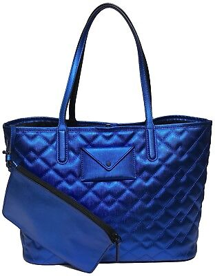 Marc Jacobs Metallic Tote (NWT MARC BY MARC JACOBS Metropolitote Quilted Metallic Tote W/Clutch, Shiny)