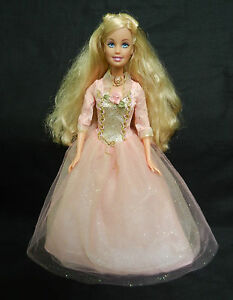 BARBIE SINGING PRINCESS ANNELIESE DOLL FROM PRINCE AND ...