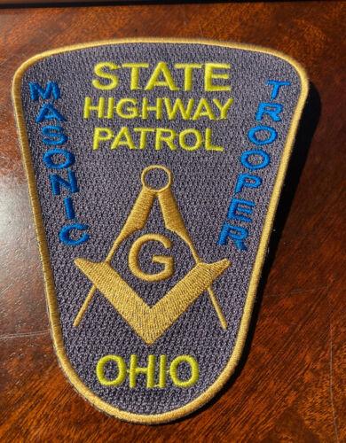 OHIO STATE HIGHWAY PATROL MASONIC FANTASY PATCH
