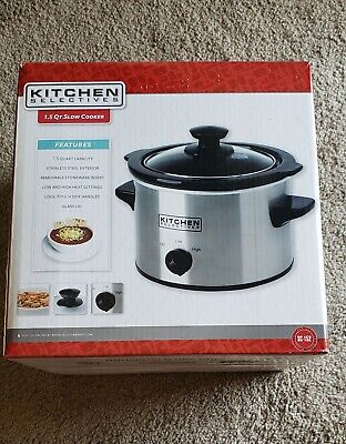 Kitchen Selectives Slow Cooker 1.5QT