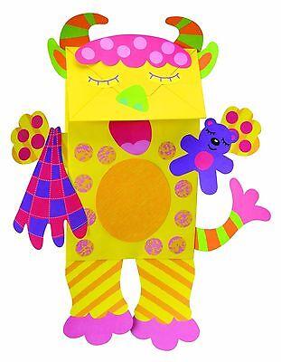 Alex Toys Little Hands Paper Bag Monsters Craft Kit (Alex Crafts Little Hands)