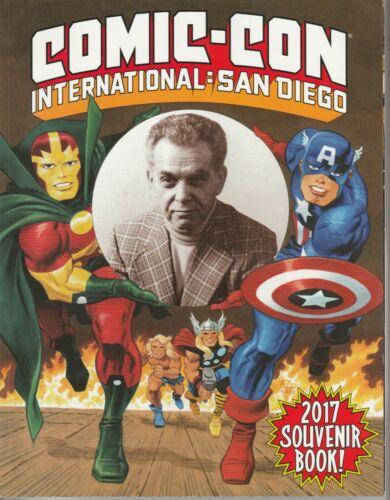 SAN DIEGO COMIC CON PROGRAM 2017 Jack Kirby SDCC Mighty Mouse Captain Marvel