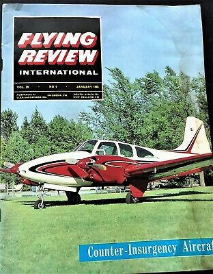 1965 Flying Review Beech TurboProp King Air, Russia Mig 15, Missiles, Valkyrie