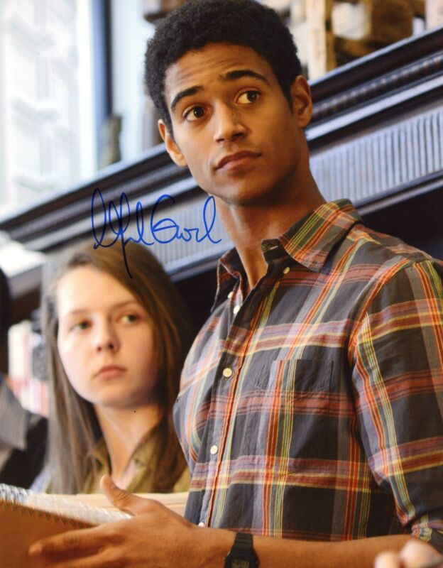 "Alfred Enoch ""How to Get Away with Murder"" AUTOGRAPH Signed 8x10 Photo B ACOA"