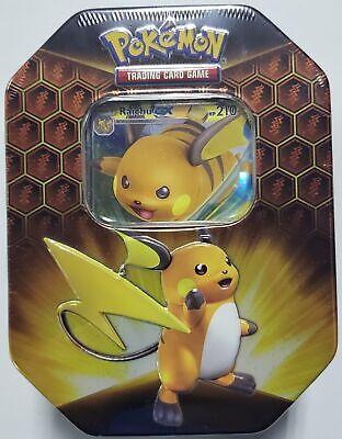 Pokemon TCG Hidden Fates GX Tin Raichu New Sealed - $67.95
