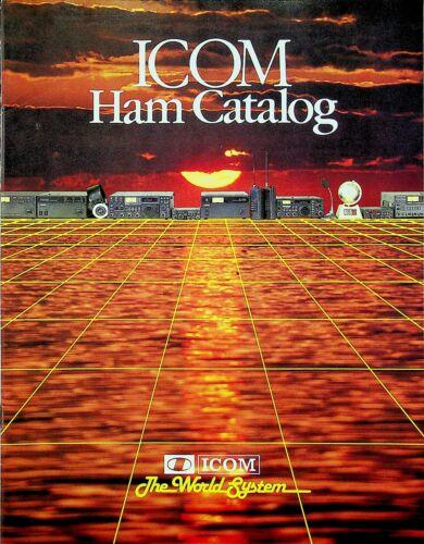 ICOM Ham Catalog February 1984 Edition