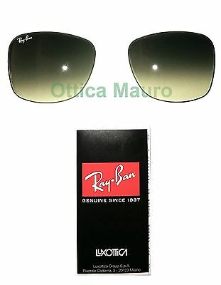 RAY BAN RB 2140 WAYFARER ORIGINAL REPLACEMENT LENSES GRADIENT GREY SIZE 54 (Ray Ban Sunglasses Big Size)