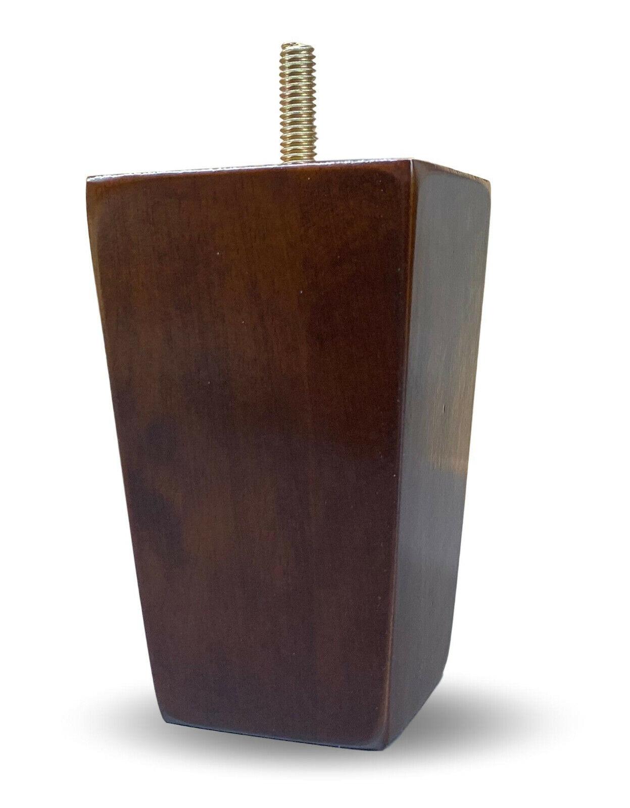 6-3/4″ Brushed Brass Straight Metal Furniture Legs – Set of 4 Furniture