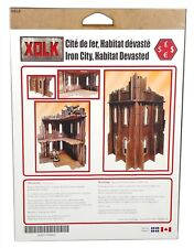 Xolk, Iron City Devastated Habitat, Miniature Wargaming Scenery Kit, 28mm Scale
